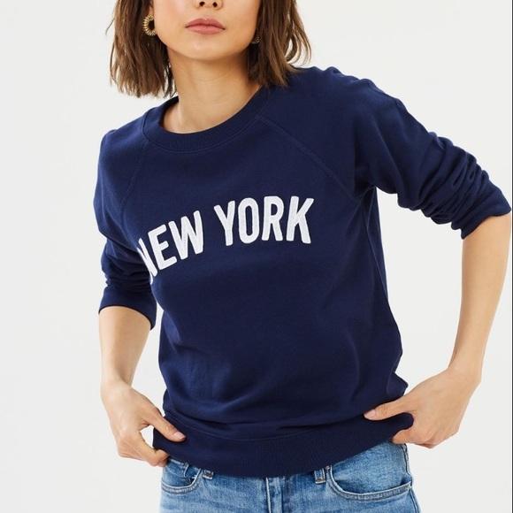 JCREW New York Sweatshirt in Navy